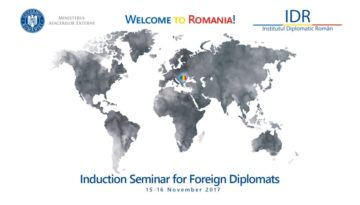"Induction Seminar for Foreign Diplomats – ""Welcome to Romania!"""