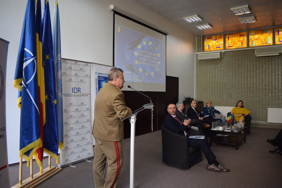 Institutul Diplomatic Român a devenit membru al rețelei European Security and Defence College